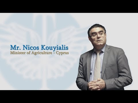 Interview with Nicos Kouyialis, Minister of Agriculture of Cyprus