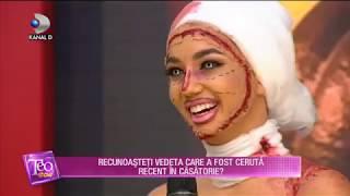 Teo Show (31.10.) - Larisa Udila, fosta concurenta &quotBravo, ai stil!&quot, a fost cerut ...