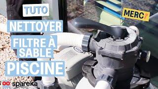 TUTO - Comment nettoyer le filtre à sable de votre piscine