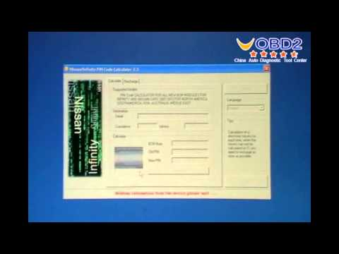 How to use Nissan and Infiniti Pin Code Calculator for all new BCM modules.wmv