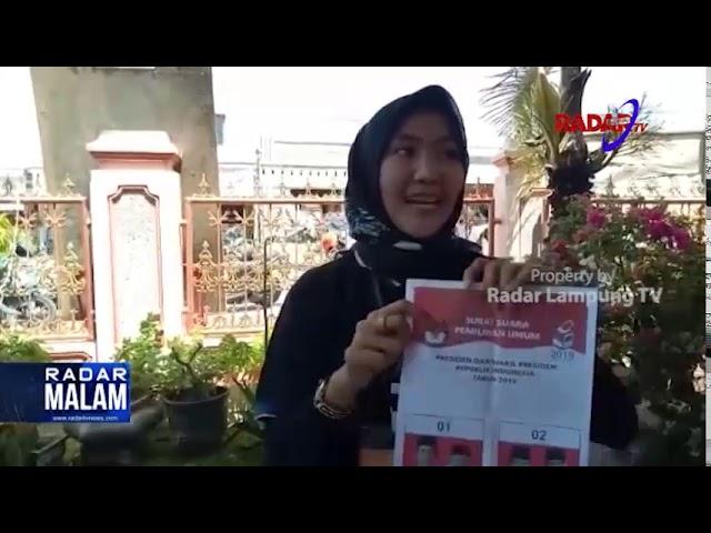 HEBOH, SURAT SUARA PILPRES TERCOBLOS PASLON 01