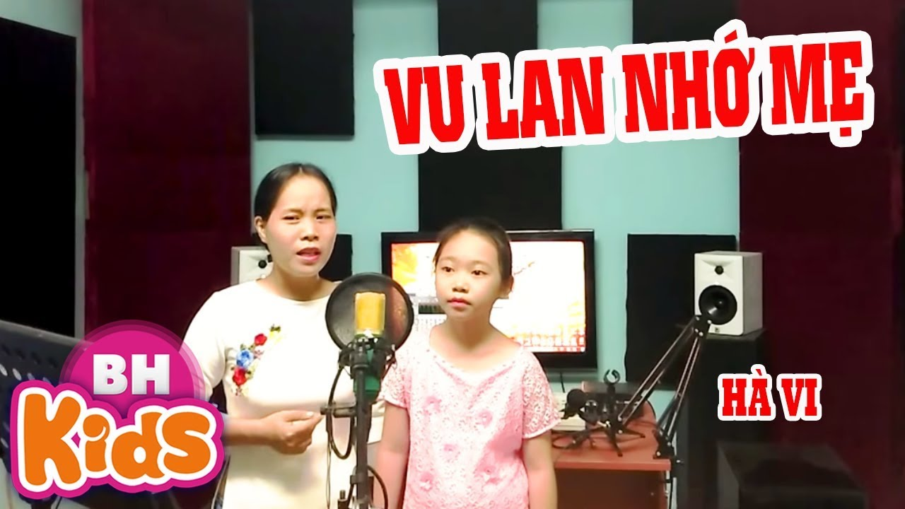 Cảm Động với màn song ca của hai mẹ con - Vu Lan Nhớ Mẹ - Bé Hà Vi