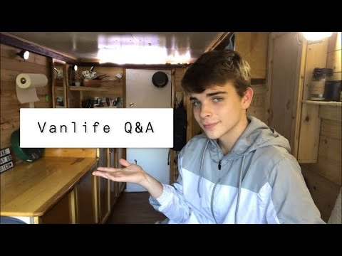 VANLIFE Q&A AND MORE ABOUT ME :)