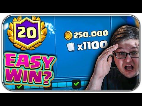 20 Wins EASY holen? 🏆 Soviel Skill braucht man | Clash Royale Let's Play Deutsch German