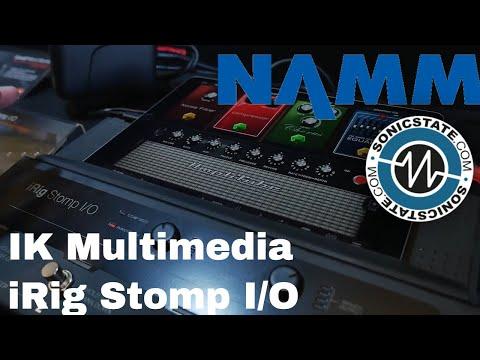 NAMM 2018: IK Multimedia iRig Stomp I/O