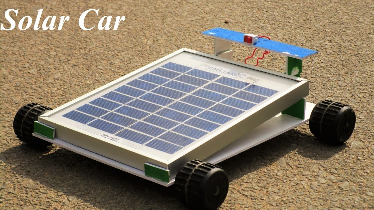How To Make A Solar Car Does This Really Work Youtube
