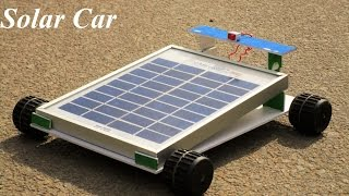 How To Make a Solar Car - make your own creation