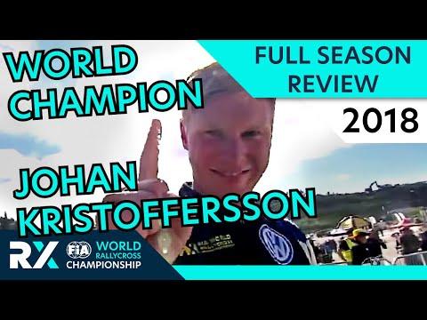 World RX Champion Kristoffersson! | Highlights | FIA World Rallycross 2018