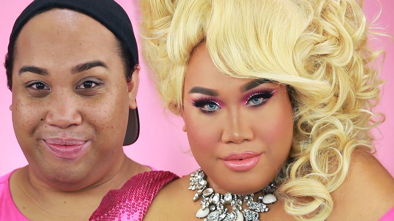Drag queen makeup tutorial patrickstarrr youtube drag queen makeup tutorial patrickstarrr baditri Images