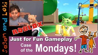 WAA-WAAHH! Roblox Fails! 🐧 Blamo and 🐱 Meep City 🎮 #Monday #Funday #Gameplay 01