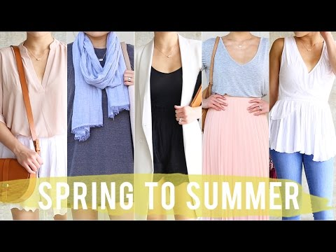 Spring to Summer Transitional Outfits | Early Summer Looks | Fashion Lookbook | Miss Louie