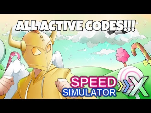 ALL ACTIVE CODES!! 🍭🍬🏃Speed Simulator X (EXPIRED)