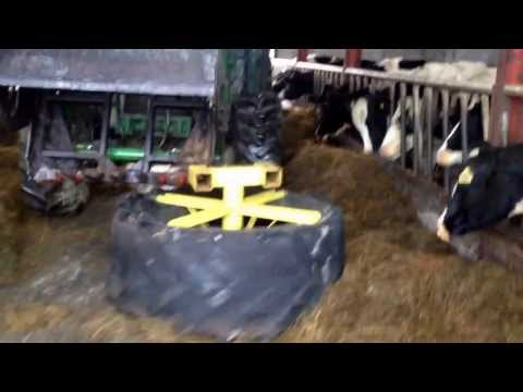 Silage pusher. Buy empire fabrication.