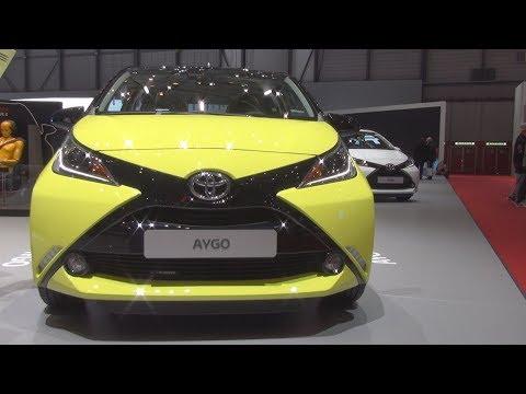 Toyota Aygo 1.0 VVT-i X-Cite (2016) Exterior and Interior