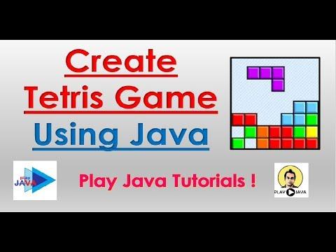 Create Tetris Game Using Java