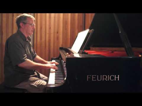 """""""Lamento"""" by André Campana Merétika - P. Barton, FEURICH piano"""