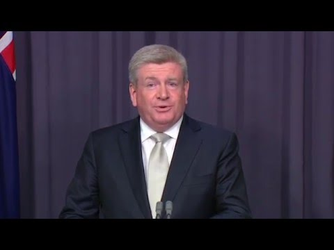 Inside Canberra - Media Reform Legislation Press Conference