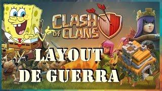 Clash of Clans | CV 7 - Layout de Guerra [Com Dispersor Aéreo]