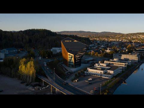Snøhetta designs carbon-negative Powerhouse Telemark office in Norway