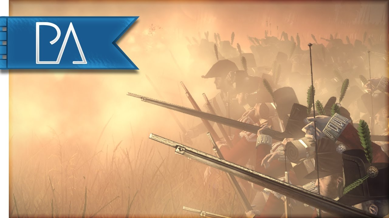 Huge Russian Bayonet Charge: French Stand Firm - Napoleonic: Total War 3 Mod Gameplay