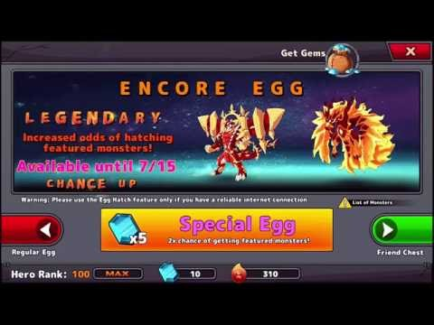 Neo Monsters - Deodragon and Lavaronix Special Eggs - Epics Galore