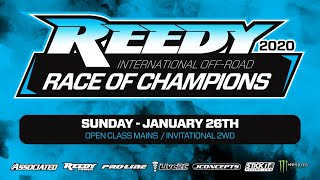 2020 Reedy International Off-Road Race of Champions - Sunday