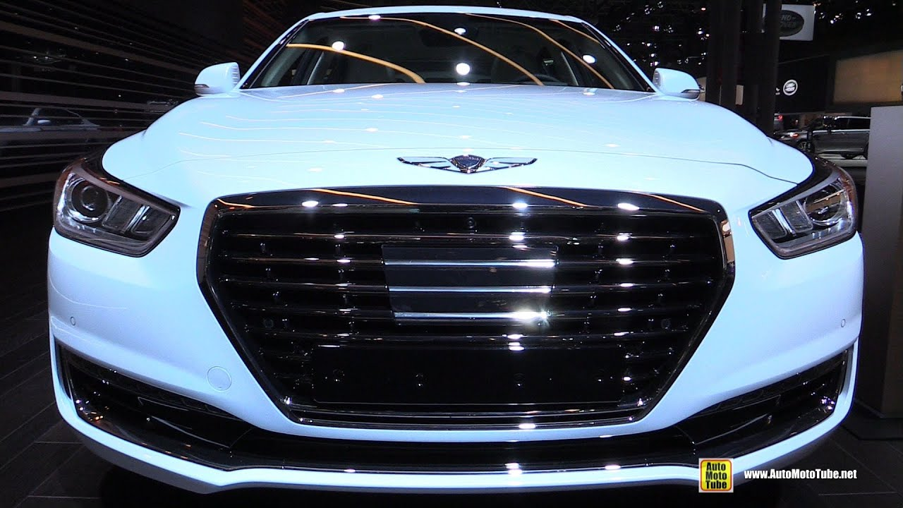 2017 genesis g90 exterior and interior walkaround 2016. Black Bedroom Furniture Sets. Home Design Ideas