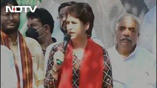 Priyanka Gandhi Flags Off Congress's 'Pratigya Yatra' In Uttar Pradesh
