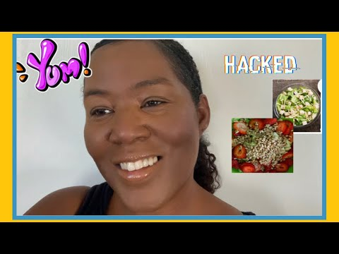KETO_LOW CARB LUNCH HACK //How I Turn A Boring Prepackaged Salad Into An Amazingly YUMMY Salad