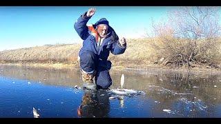 ПЕРВОЛЕДЬЕЗимняя рыбалкаЛовля крупного окуня на ГВОЗДИК