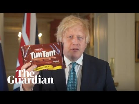 Boris Johnson Claims Australia Trade Deal Will Bring 'reasonably Priced' Tim Tams To UK