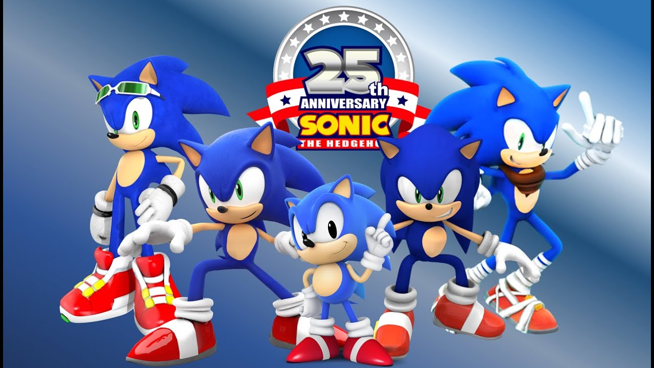 Feliz 25 Aniversario De Sonic The Hedgehog Frases