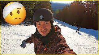 ROZSEKAL JSEM SE NA SNOWBOARDU!