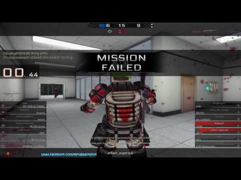 [YyNn @Blackshot] Hacker + New Gun + 1V1 = Sponsor [Gameplay]