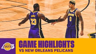 Highlights | los angeles lakers vs. new orleans pelicans
