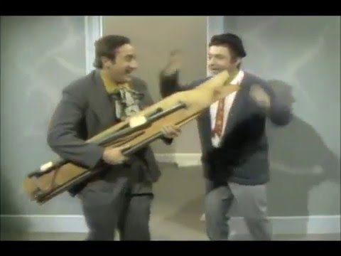 Sesame Street - Buddy and Jim Move An Ironing Board (1969)