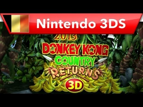 Donkey Kong Country Returns 3D - History Trailer (Nintendo 3DS)