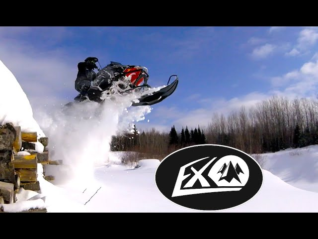 Polaris AXYS EXO Sled ripping HIGH SPEED RIPPING!