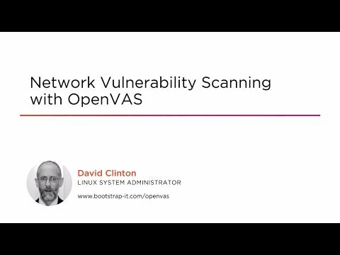 Network Vulnerability Scanning with OpenVAS | Pluralsight