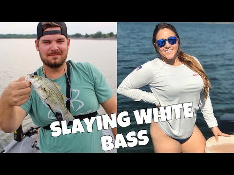 SLAYING WHITE BASS ON LAKE LAVON | DALLAS, TX FISHING
