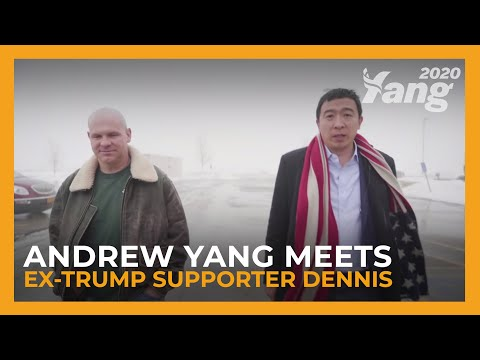 'I Voted for Mr. Trump... I'll Have to Follow You Now.' | Andrew Yang for President
