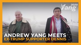 """I Voted for Mr. Trump... I'll Have to Follow You Now."" 