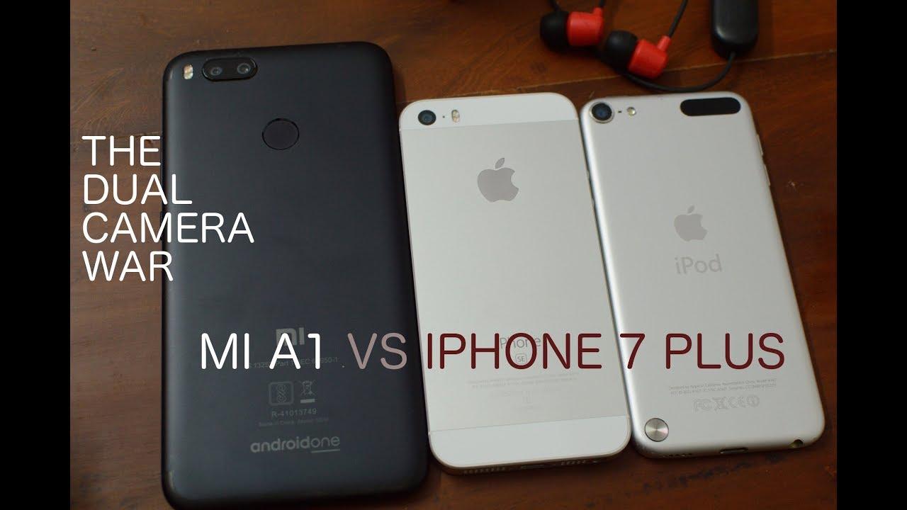 Mi A1 Camara Vs Iphone 7