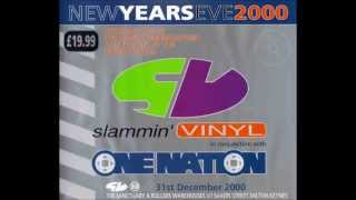DJ HIXXY NYE 00 Slammin Vinyl One Nation Classic Hardcore