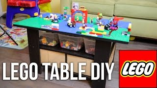 How to Make a Lego Table for under $50!  DIY