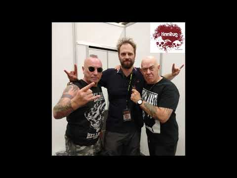VENOM INC interview by Mattias @ Alcatraz 2018, Kortrijk