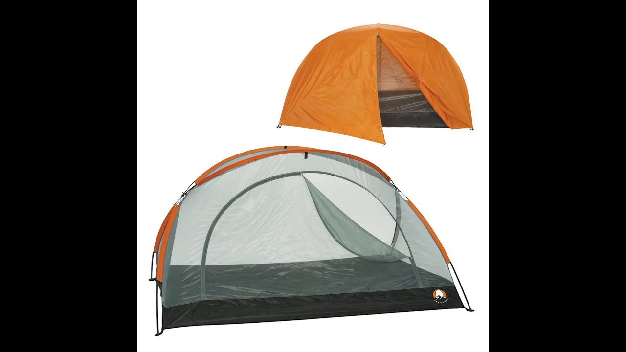 Review Stansport Black Granite Star Light Tent With Rainfly