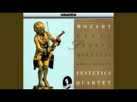 String Quartet No. 12 in B flat major K. 172: III. Menuetto