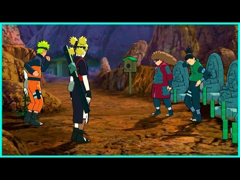 Naruto Secures A Flower For Temari From Shikamaru | Naruto Shippuden Ultimate Ninja Storm 2 Game