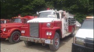 1964 Dodge Firetruck A close look
